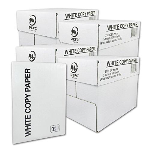 Preisvergleich Produktbild 10000 Blatt Druck- und Kopierpapier DIN A4 80g/m² COPY PAPER Kopierpapier, Druckerpapier, Universalpapier, Papier 20 x 500 Blatt weiß Laserpapier & Fax versando