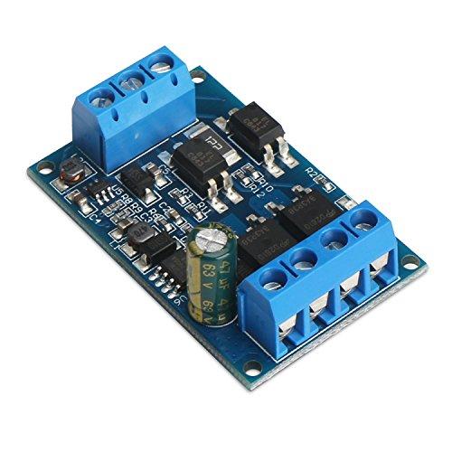 DROK® DC 4 ~ 60V 600W Dual MOS Röhren-Trigger-Schalter-Treiber-Modul 10A PWM einstellbare Schalter Control Board für Motoren / Bulbs / LED-Leuchten / Micro-Pumpen / Elektromagnetisches Ventil Pumpe-treiber