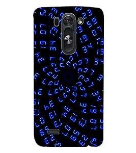 ColourCraft Digital Design Back Case Cover for LG G3 BEAT