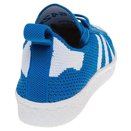 Adidas Superstar 80's Primeknit Femme Baskets Mode Bleu Bleu