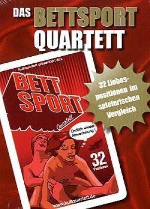 KULTquartett - Das Bettsport-Quartett (Kartenspiel)