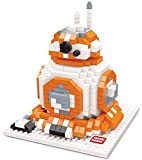 Figura de BB-8 de Star Wars para armar con minibloques. 592 bloques en miniatura.