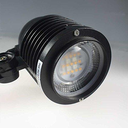 Giardino ha condotto i riflettori MiLight esterni proiettore RGBww senza apertura luce bianca calda