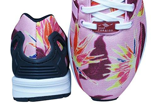 Baskets Adidas Zx Flux, Rose Pour Homme