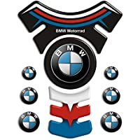 Motoking tanque pad compatible ETIQUETAS 3D-ETIQUETA' ' BMW Deluxe 14,8 x 19,5 ' '- tanque de la motocicleta y la protección de la pintura universal