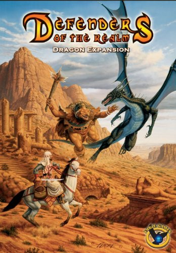 Eagle-Gryphon Games EAG01778 - Brettspiel 'Defenders of the Realm: Dragons Expansion 2nd Edition'