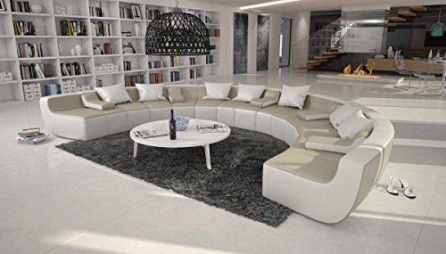 SalesFever Moderne Wohnlandschaft XXL in U-Form Terassi-U