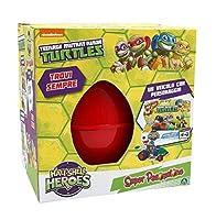 Il Super Pasqualone Turtles Half è uno speciale contenitore a forma di uovo, ideato da Giochi Preziosi. È perfetto per rendere unico il giorno di Pasqua a tutti i bambini amanti delle Tartarughe Ninja.