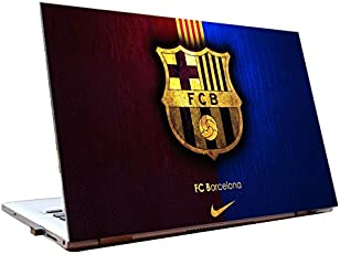 Tamatina Laptop Skins 14 inch - F C Barcelona - Football Club - Logo - Hd Quality - Dell-Lenovo-HP-Acer