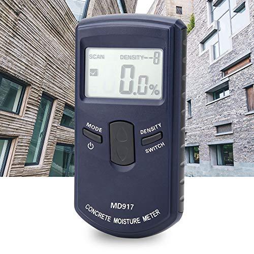 Misuratore di umidità, Calibro di umidità dell\'igrometro digitale con Display LCD , Monitor di umidità del misuratore di umidità del muro di cemento per calcestruzzo a parete in legno