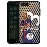 DeinDesign Coque en Silicone Compatible avec Apple iPhone 7 Plus Étui Silicone Coque Souple Paris Saint-Germain Kimpembe PSG