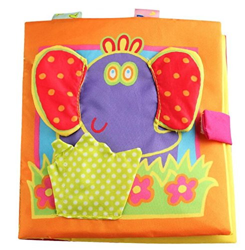 Achun Stoffbuch Spielzeug Babyplay Activity Book, Stofftier, Baby / Kleinkind Spielzeug