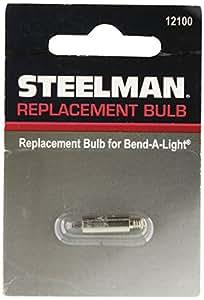 Steelman STE12100 Ampoule de Rechange, Transparent