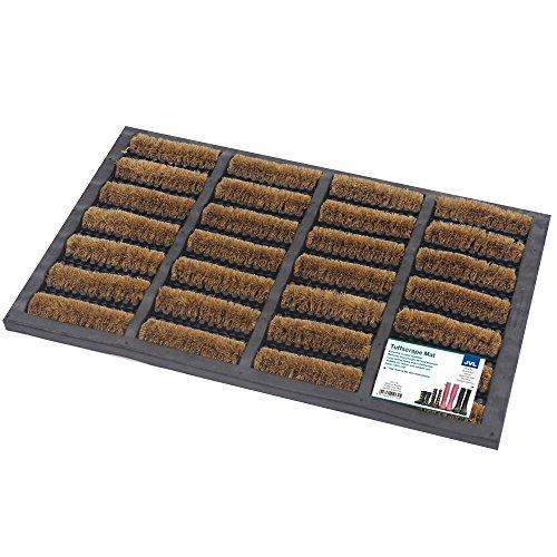 Felpudos Exteriores  de goma y fibra de coco (40 x 60cm, para interi