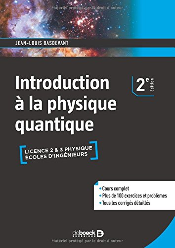 Introduction à la physique quantique par Jean-Louis Basdevant