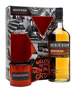 Auchentoshan American Oak and Tin Cup Gift Set from Auchentoshan