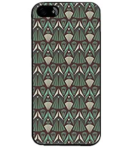 PrintDhaba Pattern D-5213 Back Case Cover for APPLE IPHONE 5 (Multi-Coloured)