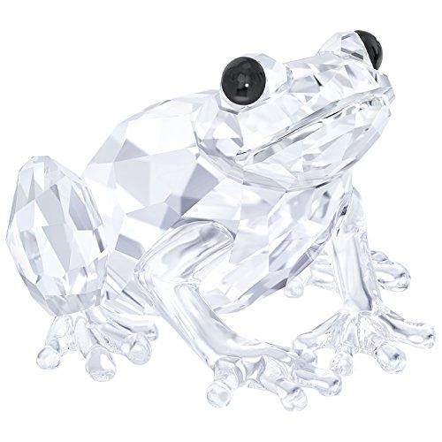 Swarovski Frosch Figur, Kristall, Transparent, 2.5 x 3.6 x 3.7 cm (Frosch-figuren Sammlerstücke)