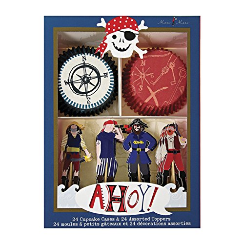 Ahoy There Pirate Cup Cake (Pirate Kit)
