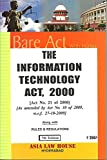 The Information Technology Act, 2000 [Bare Act]