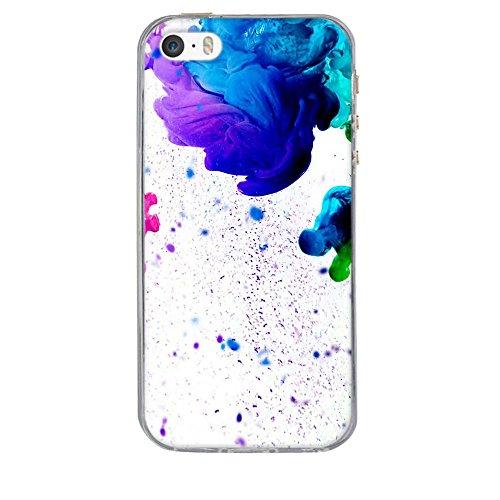 Coque Apple iPhone 5 5S 5SE, Fubaoda [comme le rêve] artistique Série Peinture Étui TPU silicone élégant et sobre pour Apple iPhone 5 5S 5SE pic: 25