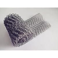 Filtro de la malla del acero inoxidable de 4 hilos 304, filtro de pantalla tejido del alambre para la destilación casera del brew, 10 × 100cm