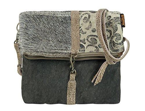 Preisvergleich Produktbild Sunsa Damen kleine Umhängetasche Schultertasche Crossbody Tasche Canvastasche in retro Style Vintagetasche