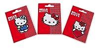 Set da 3. Con gli allegri motivi di «Hello Kitty» non bisogna più vergognarsi per un buco nei pantaloni oppure nel giubbotto perché entro pochi minuti gli indumenti avranno un nuovissimo design! Ma anche senza buchi i motivi abbelliscono berr...