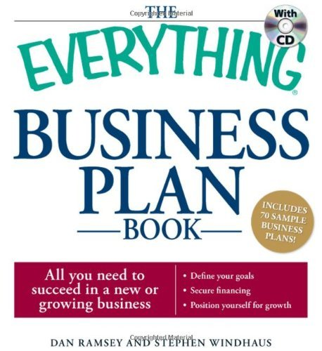 The Everything Business Plan Book with CD: All you need to succeed in a new or growing business by Dan Ramsey (2009-04-18)