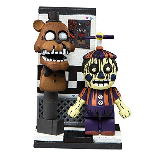 McFarlane 12813-0 Five Nights at Freddy's Micro Construction Set, Office Hallway