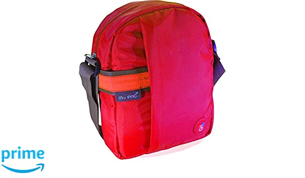 4c593352795 Buy My Pac Vivaa Unisex Waterproof Sling Bag Red C11593-3 Online at Low  Prices in India - Amazon.in