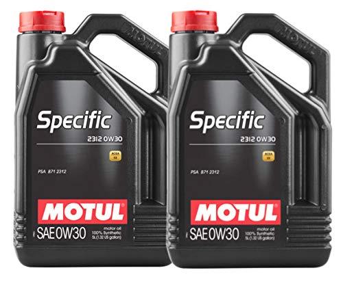 MOTUL Aceite Lubricante Motor 2312 0W30