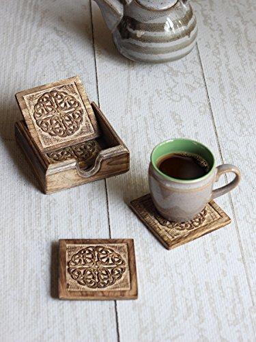 store-indya-rustique-hand-carved-bois-sous-verress-ensemble-de-4-dans-titulaire-89-cm-avec-celtic-sc