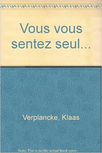 Livre Vous vous sentez seul... pdf, epub