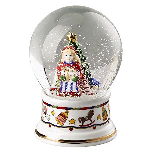 Hutschenreuther 02372–727050–27560 Décoration de Noël limitée Porcelaine, 8 x 15 x 12 cm, Blanc