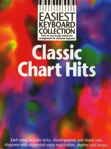 Easiest Keyboard Collection: Classic Chart Hits. Für Keyboard(mit Akkordsymbolen) (Oh Diagramm)