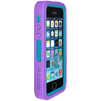 Amzer Amzer Crusta Rugged Embedded Tempered Glass Case with Belt Clip Holster for Apple iPhone 5/ 5S from Amzer