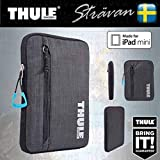 """Thule Thickly Padded Water Resistant Universal Soft Sleeve/Case/Bag for 7/8"""" Tablet/e-Reader Devices - For iPad Mini, Amazon Kindle Fire HD/HDX 7"""", Samsung Galaxy Tab 7, Kindle Touch an Many More"""