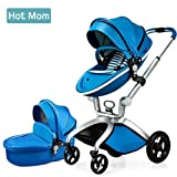 Hot Mom Limited Edition Kombikinderwagen und Buggy Sportwagen 3-in-1 Travelsystem 2017 mit...