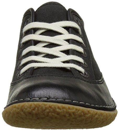 Kickers Hollyday, Baskets Basses Femme Noir (Noir)