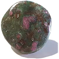KRIO® - Edelstein Bolotie aus Rubin Fuchsit an Lederkordel Ø 4mm ca 98 cm lang preisvergleich bei billige-tabletten.eu