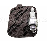 Genuine Air Filter & Plug Service Kit For Stihl Leaf Blowers & Shredders