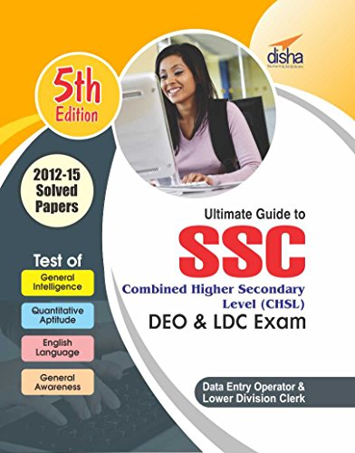 SSC Combined Higher Secondary Level (CHSL) Guide for DEO & LDC