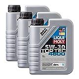 3x LIQUI MOLY 3755 Top Tec 4600 5W-30 Motoröl