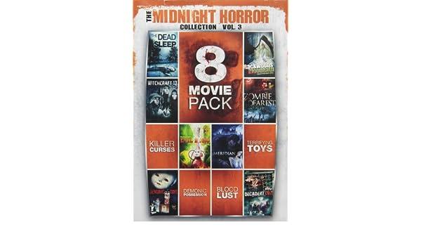 8 Movie Pack Midnight Horror Collection 3 Dvd Region 1 Us Import