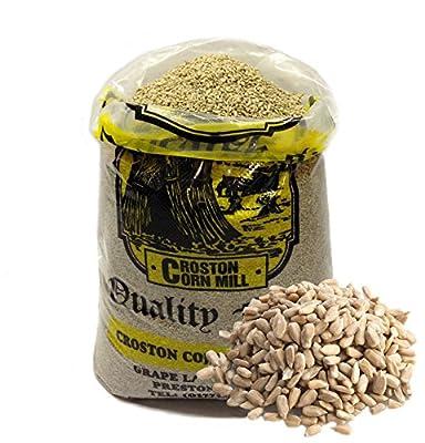 30kg 'Wheatsheaf' Sunflower Hearts (Bakery Grade) Wild Bird Food from Croston Corn Mill