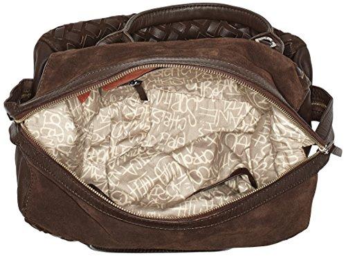 Liebeskind Berlin Damen Jacksonvil Suewea Henkeltasche, 15 x 24 x 33 cm Braun (Eagle Brown)