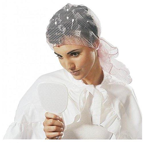Retina messa in piega - Maglia media - Bianca