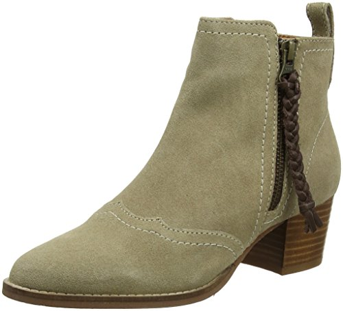 Joe Browns Damen Dakota Suede Ankle Boots Stiefeletten, Beige (Natural A), 37 EU -