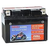 Moll mobike AGM Motorradbatterie YTZ12-S 12Ah 12V...